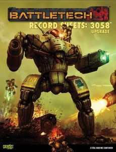 BattleTech Record Sheets 3058 Upgrade