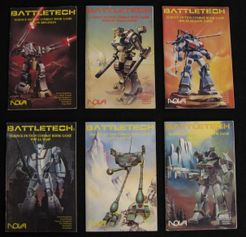 BattleTech Science Fiction Combat Book Game