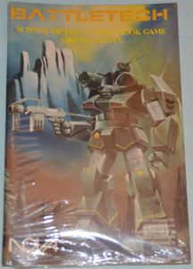 BattleTech Science Fiction Combat Book Game: GRF-1N Griffin