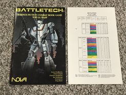 BattleTech Science Fiction Combat Book Game: WSP-1A Wasp