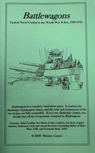 Battlewagons: Tactical Naval Combat in the World War II Era, 1920-1945