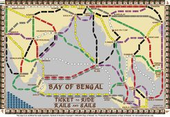 Bay of Bengal (fan expansion to Ticket to Ride)