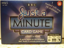 BBC Just a Minute Card Game