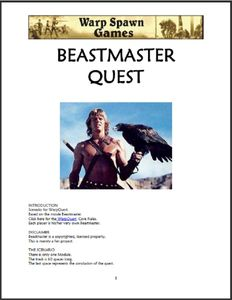 Beastmaster Quest