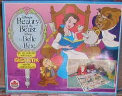 Beauty and the Beast Gigantic Magic Mirror Game