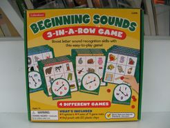 Beginning Sounds 3-in-a-Row Game