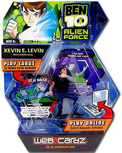 Ben 10 Alien Force Web Cardz