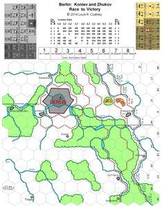 Berlin:  Koniev and Zhukov Race to Victory