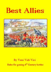 Best Allies: Rules for Gaming 18th Century Battles