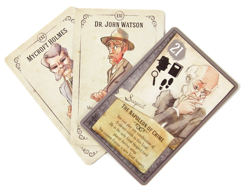 Beyond Baker Street: Mini expansion promo cards