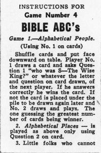 Bible ABC's