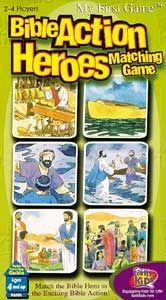 Bible Action Heroes Matching Game
