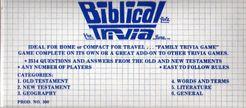 Biblical Quiz: The Trivia Game