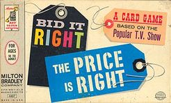 Bid It Right: The Price is Right Card Game