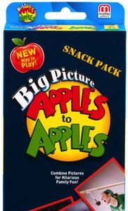 Big Picture Apples To Apples Snack Pack Game