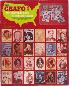 Bio Grafo The Biography Game of Skill and Chance