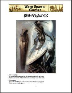 Biomechanoids