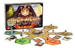 Bionicle: Mask of Light Board Game