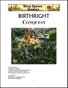 Birthright Conquest