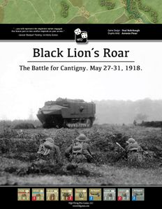 Black Lion's Roar: The Battle of Cantigny, May 27-31, 1918