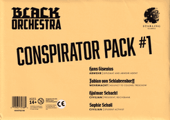 Black Orchestra: Conspirator Pack #1