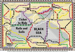 Black Sea (fan expansion for Ticket to Ride: Rails & Sails)