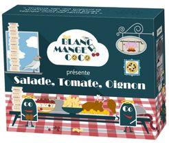 Blanc-Manger Coco: Salade, Tomate, Oignon
