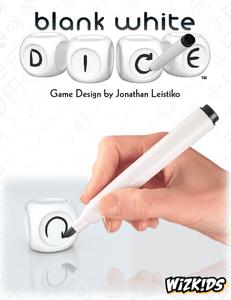 Blank White Dice
