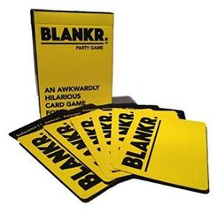 Blankr: An Awkwardly Hilarious Card Game For ?????
