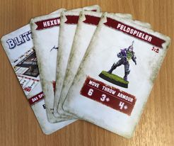 Blitz Bowl: Dark Elf Player Cards