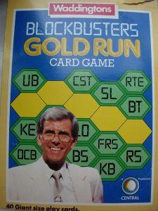 Blockbusters Gold Run Card Game
