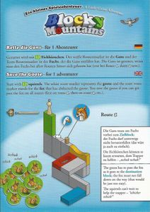 Blocky Mountains: A Little Game Adventure – Save the Goose