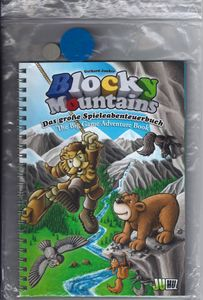 Blocky Mountains: The Big Game Adventure Book