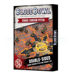 Blood Bowl (2016 edition): Chaos Chosen Pitch & Dugout Set