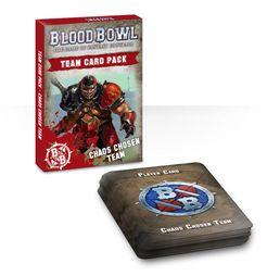 Blood Bowl (2016 Edition): Chaos Chosen Team Card Pack