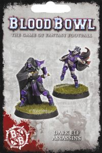 Blood Bowl (2016 edition): Dark Elf Assassins
