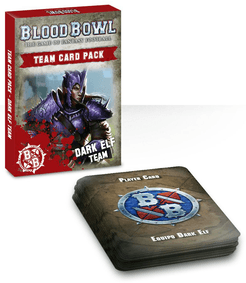 Blood Bowl (2016 Edition): Dark Elf Team Card Pack