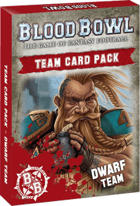 Blood Bowl (2016 Edition): Dwarf Team Card Pack