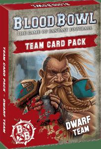Blood Bowl (2016 Edition): Dwarf Team Card Pack
