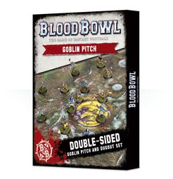 Blood Bowl (2016 edition): Goblin Pitch & Dugout Set