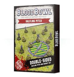 Blood Bowl (2016 edition): Halfling Pitch & Dugout Set