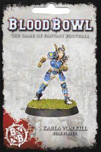 Blood Bowl (2016 edition): Karla von Kill – Star Player
