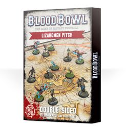 Blood Bowl (2016 edition): Lizardmen Pitch & Dugout Set