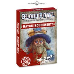 Blood Bowl (2016 Edition): Match Inducements Card Pack