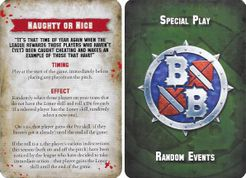 Blood Bowl (2016 edition): Naughty or Nice Special Play Promo Card