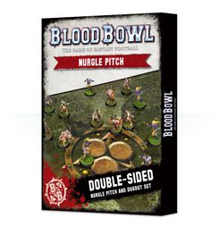 Blood Bowl (2016 edition): Nurgle Pitch & Dugout Set