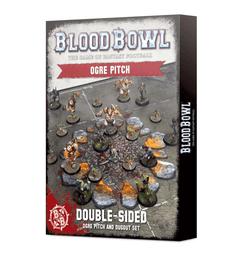 Blood Bowl (2016 edition): Ogre Team Pitch & Dugout Set