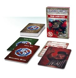 Blood Bowl (2016 edition): Orc Team Card Pack