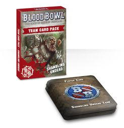 Blood Bowl (2016 Edition): Shambling Undead Team Card Pack