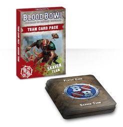 Blood Bowl (2016 Edition): Skaven Team Card Pack